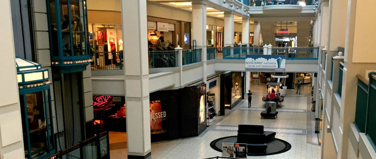 Shopping Malls, Farmers Markets and Shopping Areas in